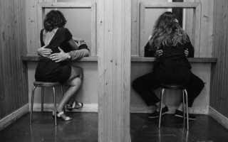 Свидание в тюрьме (исправительной колонии): что брать с собой, график, как проходит свидание и  т.д