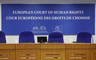 Статистика жалоб в ЕСПЧ: большая часть была отклонена