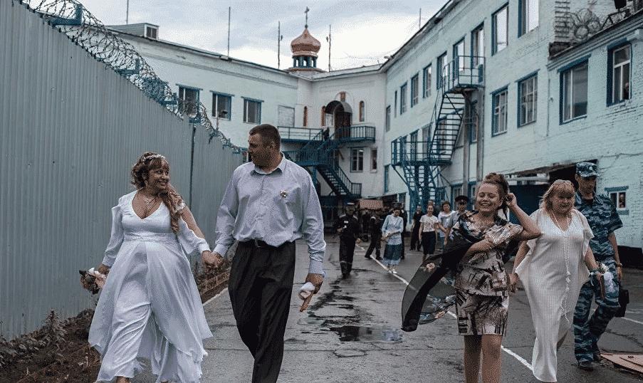 свадьба в тюрьме